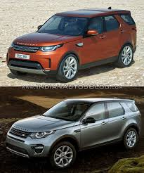 land rover discovery 2016 2017 land rover discovery vs land rover discovery sport front
