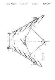 patent us5062260 pull type bifold hay rake google patents