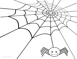 Spider Web Coloring Pages Spider Web Coloring Pages For Kids Web Coloring Pages