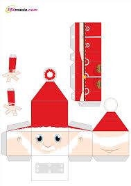 christmas paper craft templates cheminee website