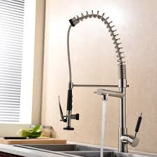 Pre Rinse Kitchen Faucets Commercial Solid Brass