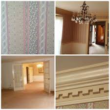 making over my dining room and how to paint dentil moulding the