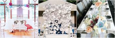 wedding backdrop rental singapore where to get the unique paper decorations for your wedding world