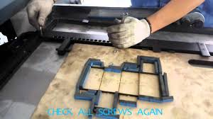 process of flatbed die cutter operation of die cutting machine