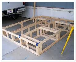 build bed frame with storage bed frame with storage ideas diy king