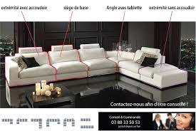 canape d angle sur mesure canapé sur mesure en cuir vachette canapé gamme canapé d angle de