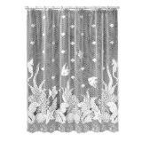 Lace Shower Curtains Sheer Lace Shower Curtains Adding Sheer Elegance To Your Bathroom