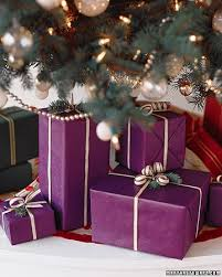 purple gift wrap gift wrapping tips for christmas presents