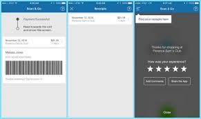 how to use the sam s club scan go app