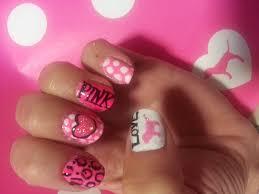 victoria u0027s secret pink logo nails youtube