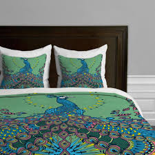 green and blue peacock duvet cover master bedroom pinterest