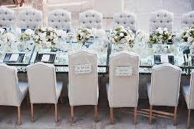 renting chairs for a wedding tufted furniture rentals give your wedding a glam look inside