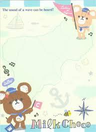 map pad kawaii map sailor boat mini memo pad memo pads stationery