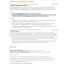 marketing and communications resume sample resumes excellent