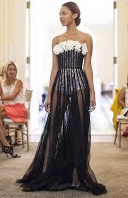 a giambattista valli couture show at the duke mansion via town