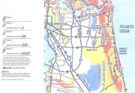 Flood Zone Map Florida by Evacuation And Re Entry City Of Jacksonville Beach