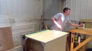 Kitchen Cabinet Skins How To Skin A Cabinet Part 1 Youtube