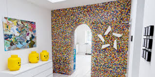 Kids Lego Room by Why Pay A Contractor To Put Up A Wall When You Can Just Build One