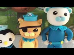 octonauts cake toppers octonauts edible cake toppers captain barnacles kwazii