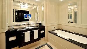 breidenbacher hof hotel bathroom hospitality interior design with