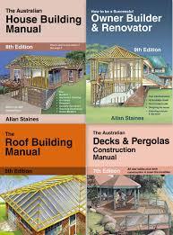 house building manual owner builder renovator decks u0026 pergolas