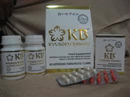 Pemutih Kb kyusoku bihaku suplemen pemutih kulit 100 aman tanpa zat additive