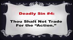 7 deadly trading sins
