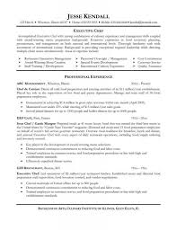 sous chef resume sample resume for your job application