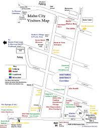 Map Of Carlsbad Ca Map Of Idaho Cities Idaho Road Map Cities In Idaho Idaho Ciies