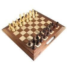 Wooden Chess Set 16