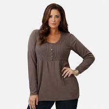 kohls plus sizes for ribbed babydoll sweater