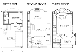 multi level home floor plans home ideas 0ne story 3 car garage house planscar parking