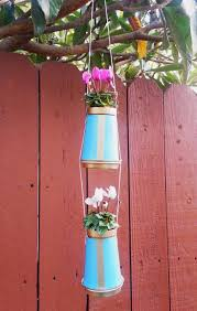 hanging coffee cup planter u2014 a charming project