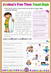 english teaching worksheets simple present