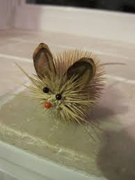 Christmas Mice Decorations 18 Best Teasel Crafts Images On Pinterest Nature Crafts Pine
