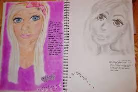 makeup artist sketchbook a level and design excess ashlees webfolio