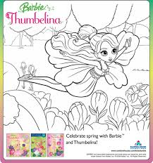 amazon com barbie presents thumbelina barbie movies u0026 tv
