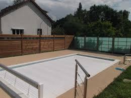 plage de piscine plage de piscine avec panneaux bois artibois91