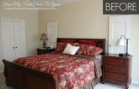 Makeover My Bedroom - light blue bedroom makeover budget bedroom before and after