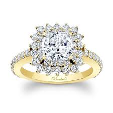gold cushion cut engagement rings barkev s yellow gold cushion cut engagement ring 8001ly barkev s