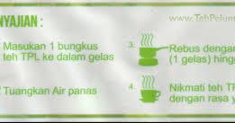 Teh Tpl cara minum penyajian teh new tpl original teh peluntur lemak asli