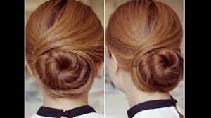 sophisticated twisting bun hairstyle video tutorial video