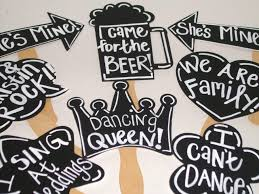 wedding photo booth props 8 chalkboard photo booth props with phrases written chalk board