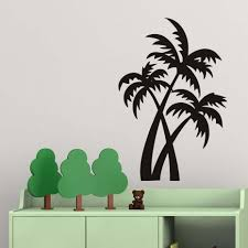 Tree Wall Decals For Nursery Online Get Cheap Palm Tree Wall Decals Aliexpress Com Alibaba Group