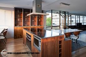 Vancouver Kitchen Island by Hycroft Towers Home Construction Company Vancouver Bc