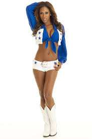 Dallas Cowboys Cheerleader Halloween Costume Pro Bowl Cheerleaders Nfl