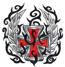red iron cross by ppunker on deviantart