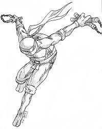 ninja turtle michelangelo deviantart