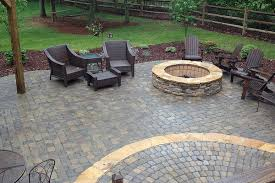Backyard Patio Pavers Innovative Patio Ideas With Pavers Here39s A Raised Curved Paver