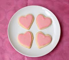 heart shaped cookies heart shaped pink cookies recipe yard
